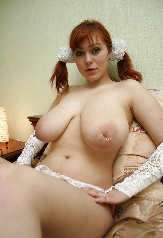 порно фото рыжая девушка с большими дойками - 5