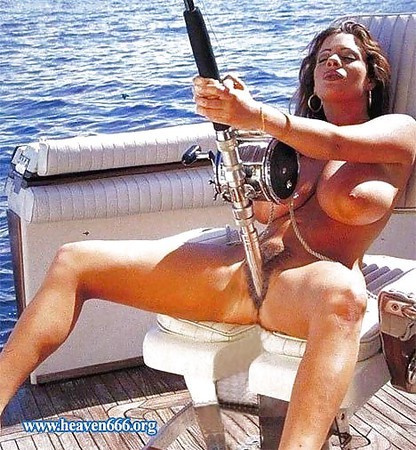 bikini in Girls fishing