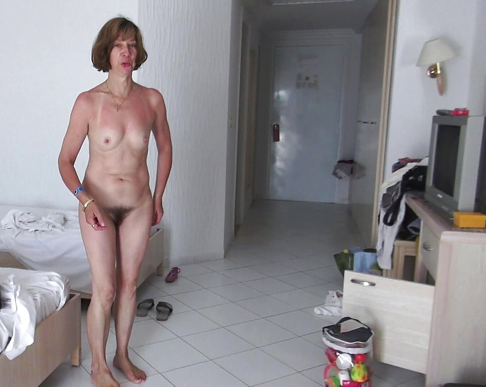 Nude housewives caught on tape