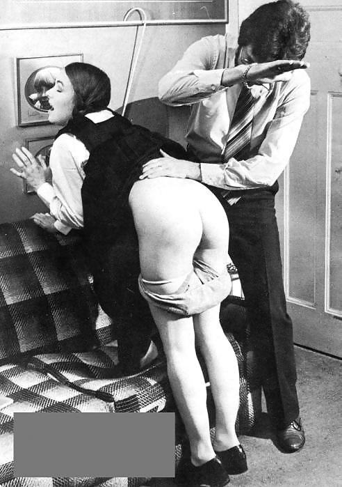Spanked her bottom british vintage erotica