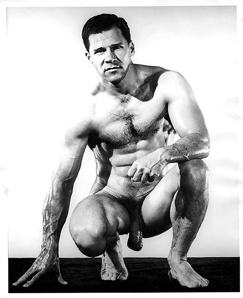 Seventies vintage nude male actors