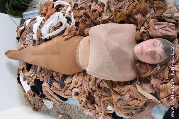 Pantyhose encasement porn-6486