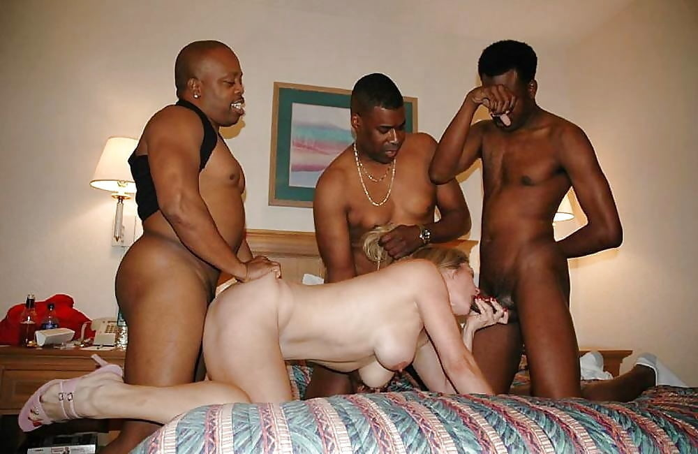 Unwilling wife gets gangbang to pay husbands poker debt free pics