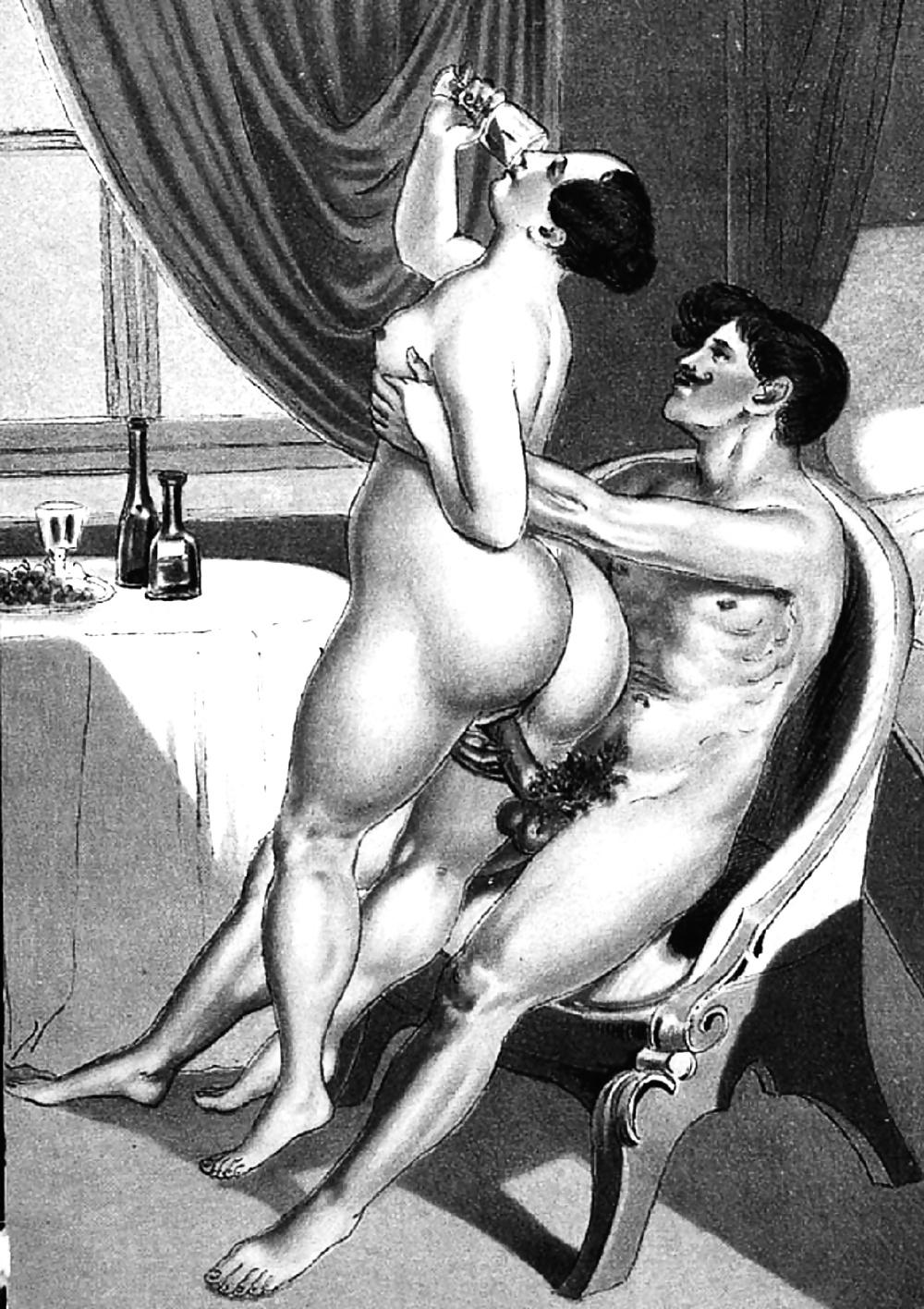 prishel-pomosh-seks-risunok-retro