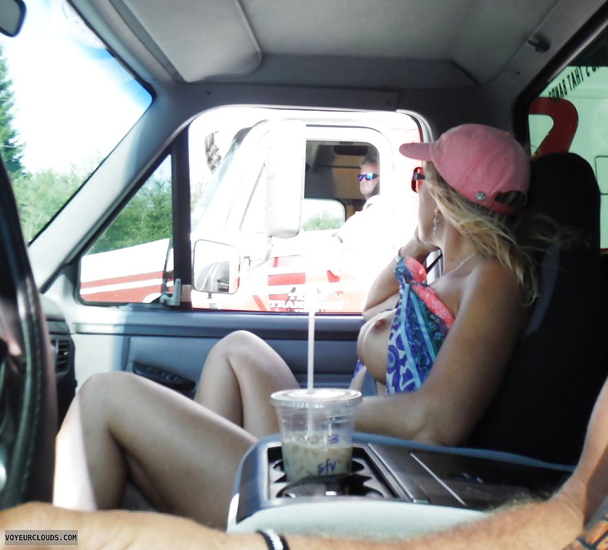 Flashing trucker porn pics