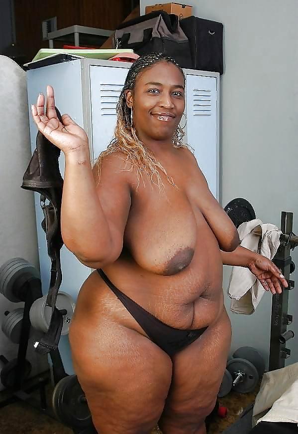 Ebony fat naked women — photo 15