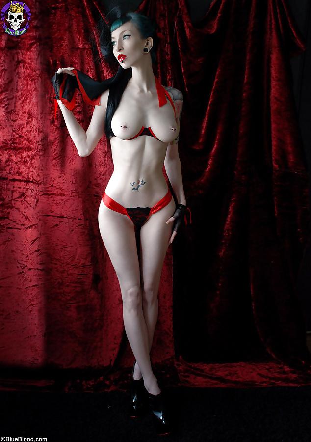 Sexy naked girl vampire #10