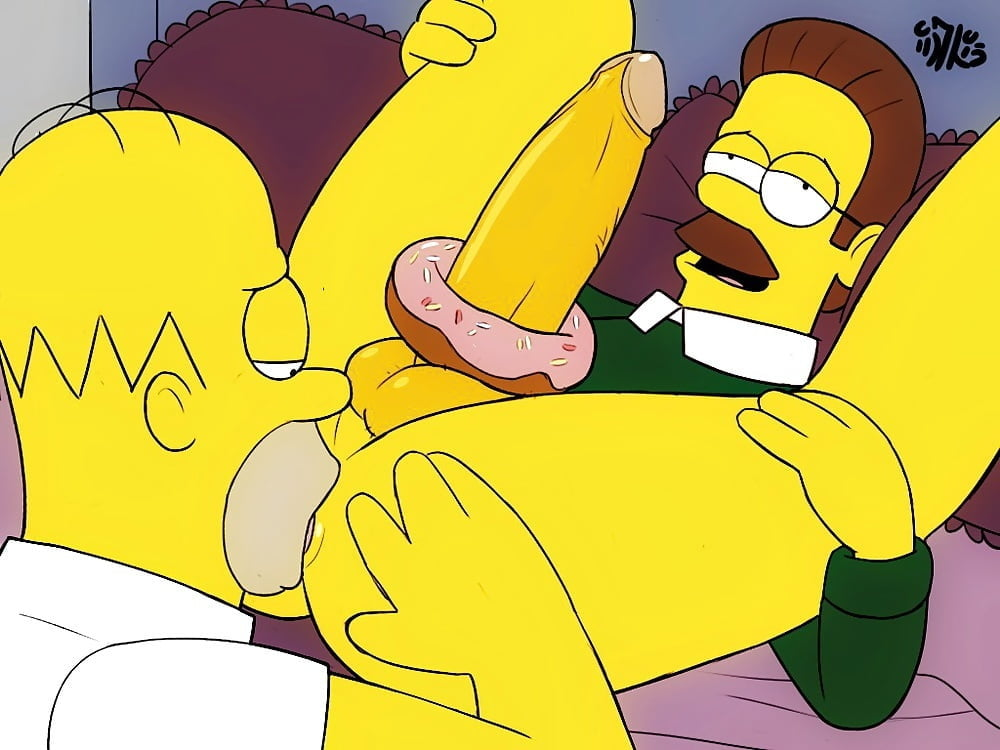 Homer simpson anal