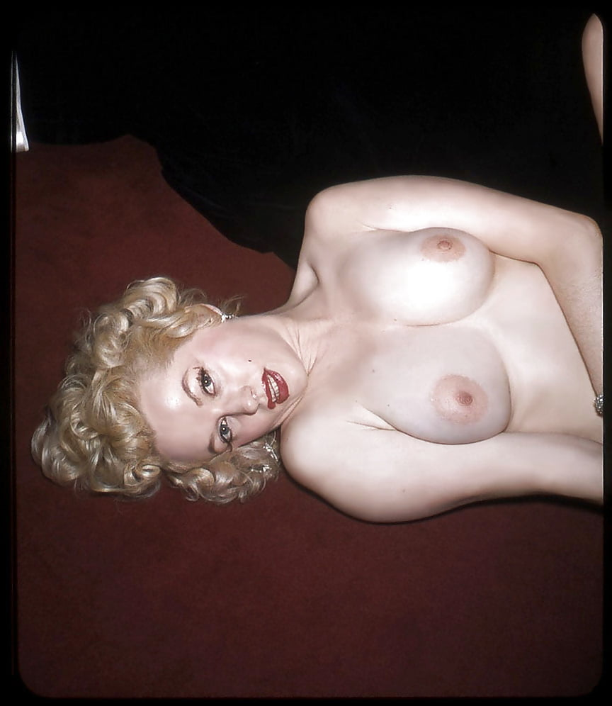 Dixie Evans Poses Nude For Harold Lloyd Sometime In The