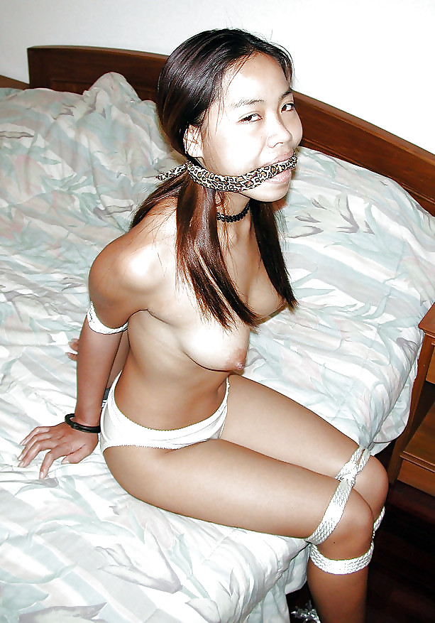 Asian housewife bound