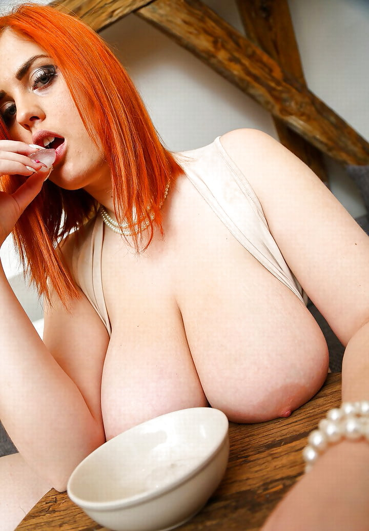 Voluptuous busty redhead pics — pic 7