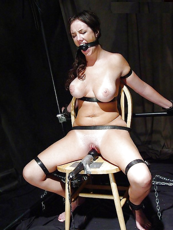 Submissive blonde enjoys her first bdsm fetish fuck