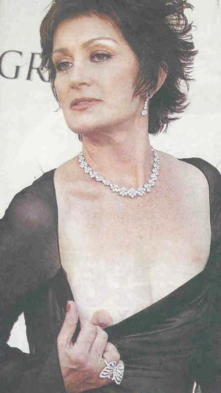 Pics of sharon osbourne tits nud