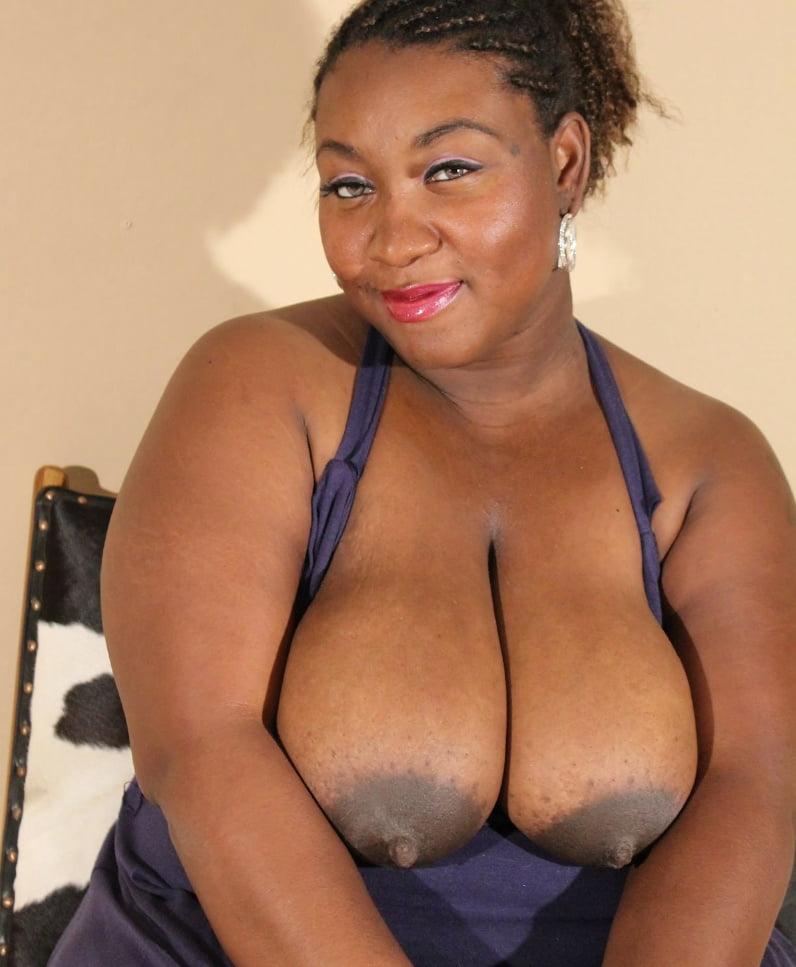 Black Milky Tits