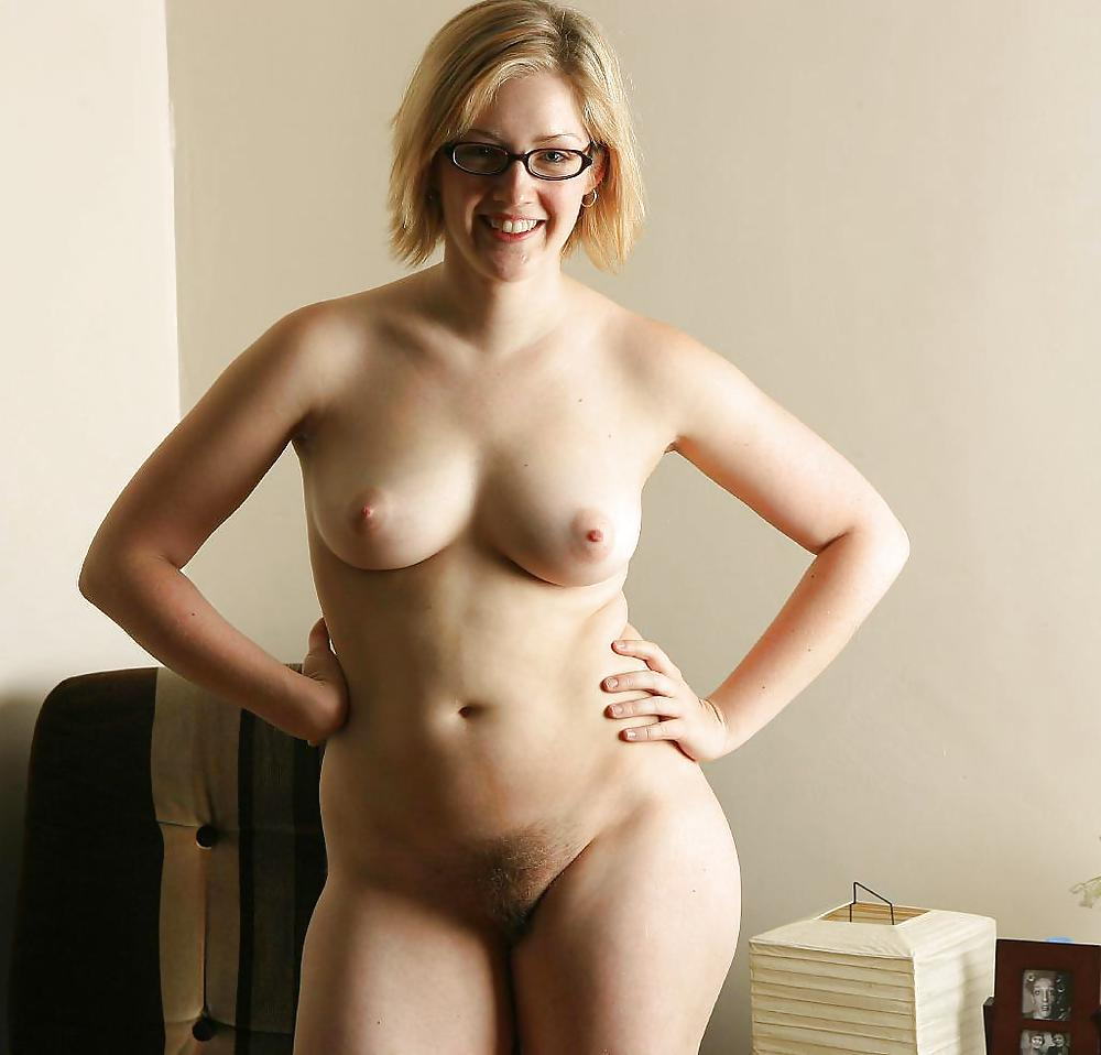 Glasses nude naked wife — photo 1