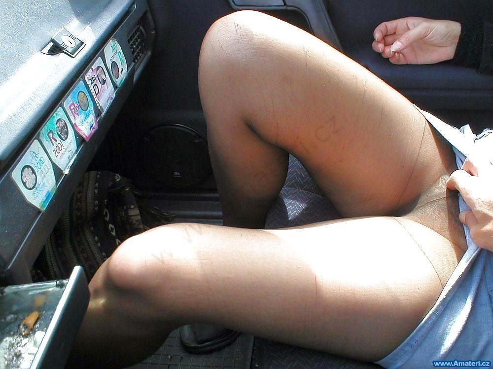 car videos Pantyhose