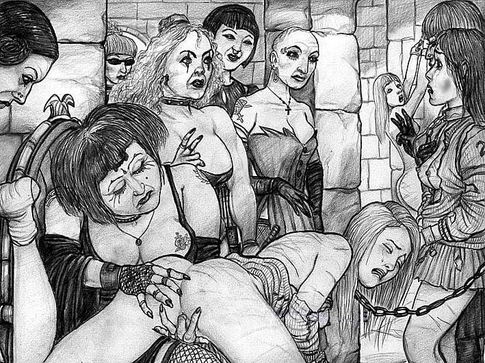 Dofantasy Bdsm Comics Kidnapped Housewife