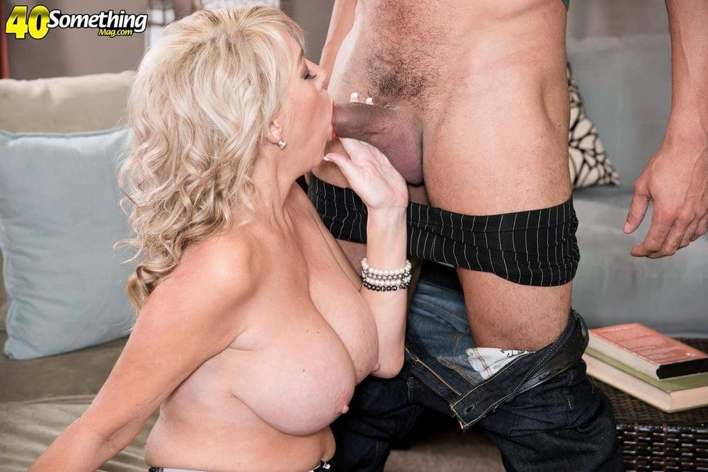 Blonde Tarise Taylor Takes Hard Pecker While Wearing Sexy Porzo 1