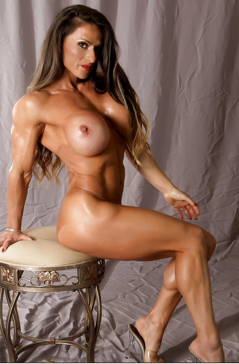 Muscular female nude