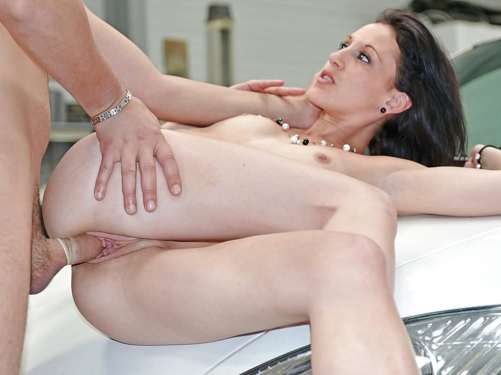 Her first anal sex