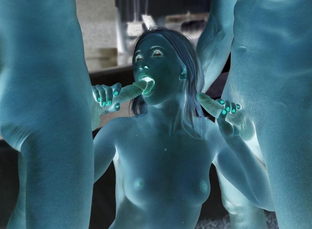 Negative of porn