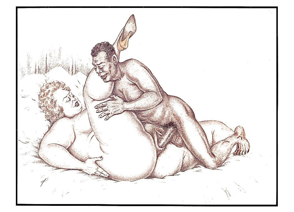 Nude woman peeing pic