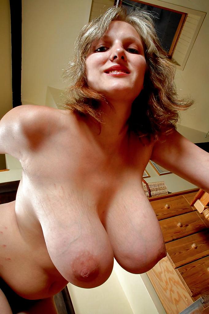 Mature heavy hangers tits