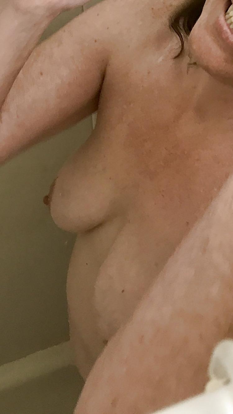Big tit girls in shower