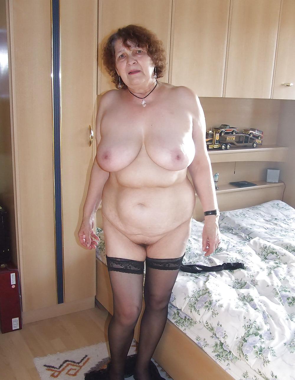 Hairy granny fat