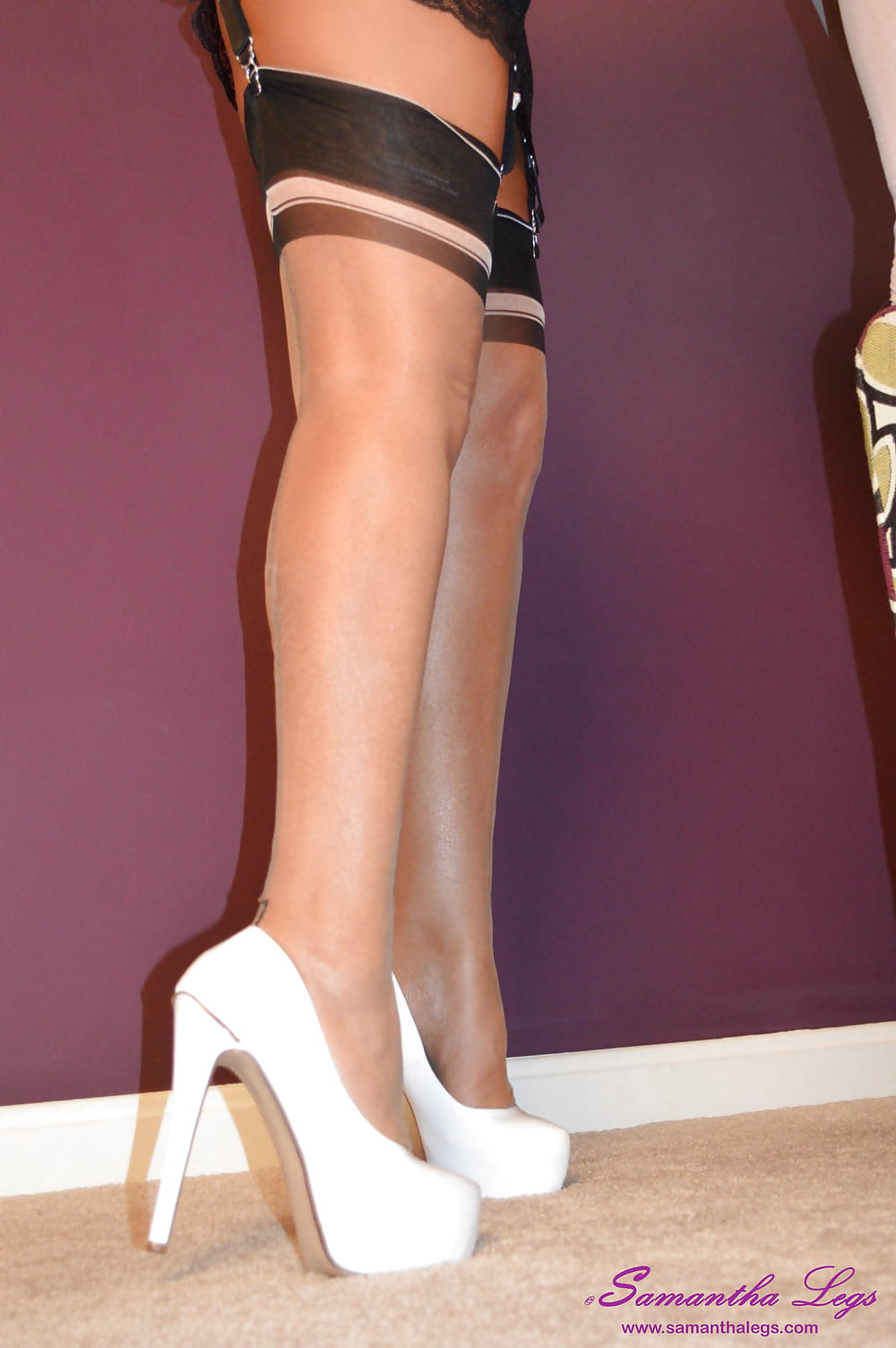 Sexy heels and hose pics