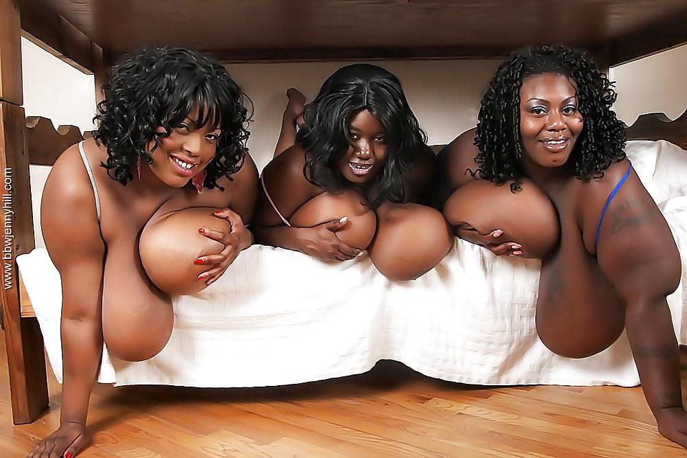 Big fat boobs black