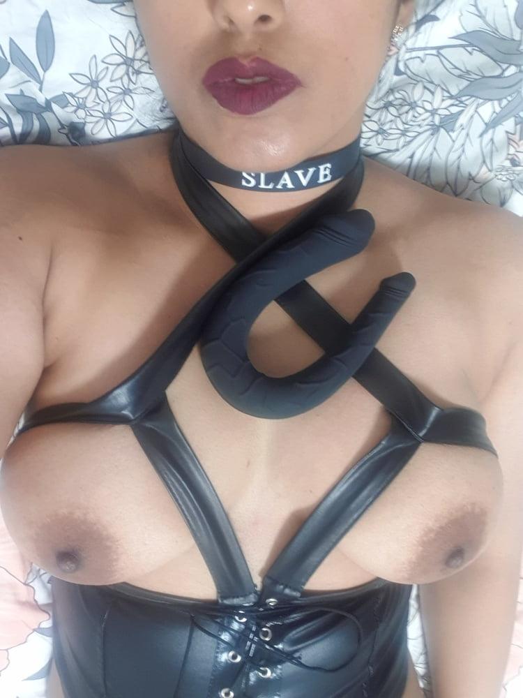 Sexy DP in Black - 61 Pics