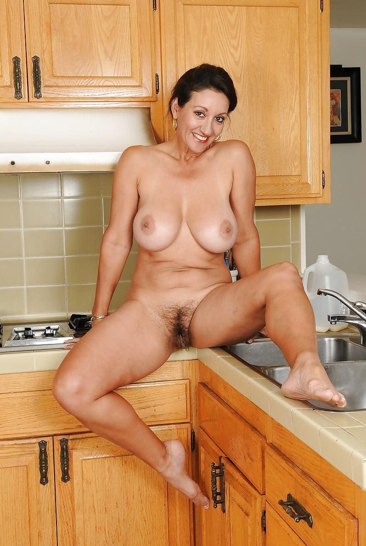 Jessica mature nude kitchen