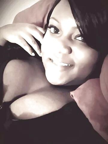 Black chubby boobs-8063