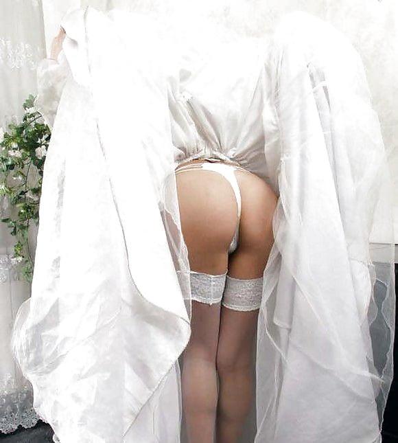 порно про невест под платьем