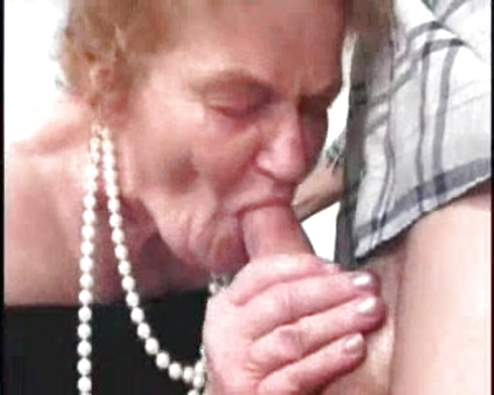 Toothless granny blowjob anal sex images