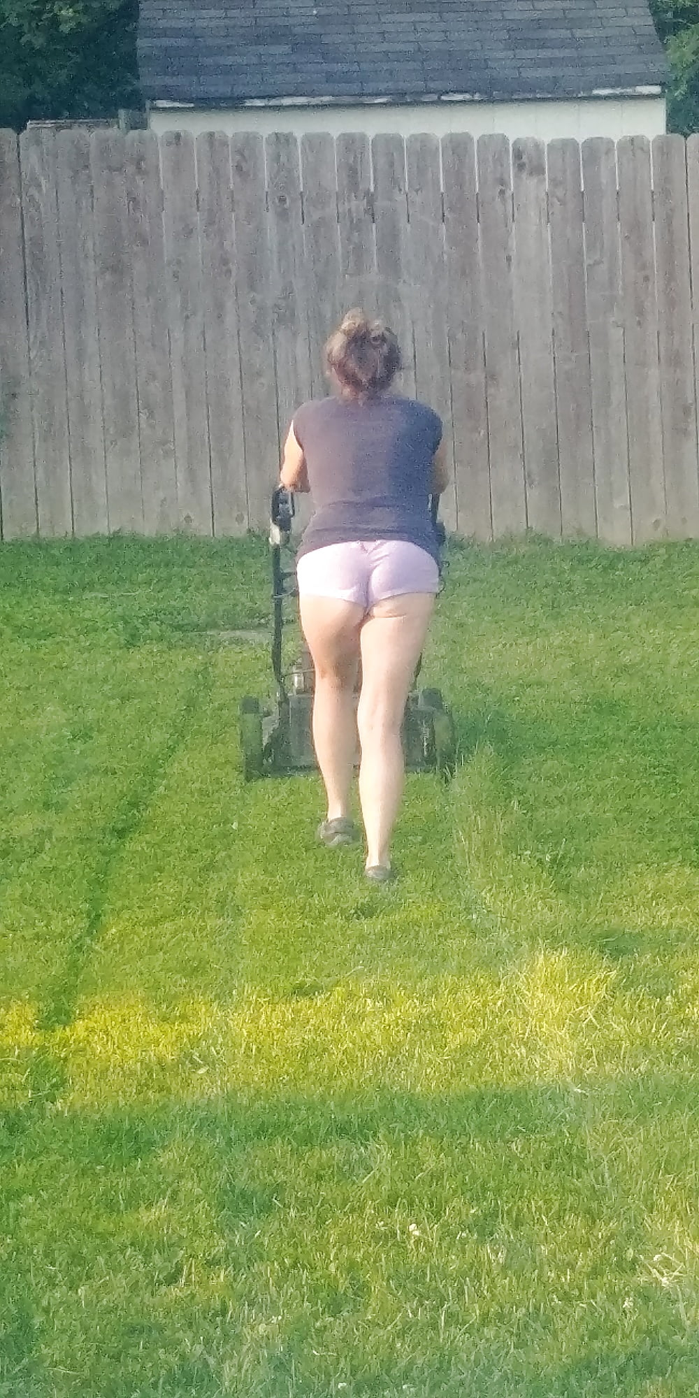 Shower sex toy womens ass