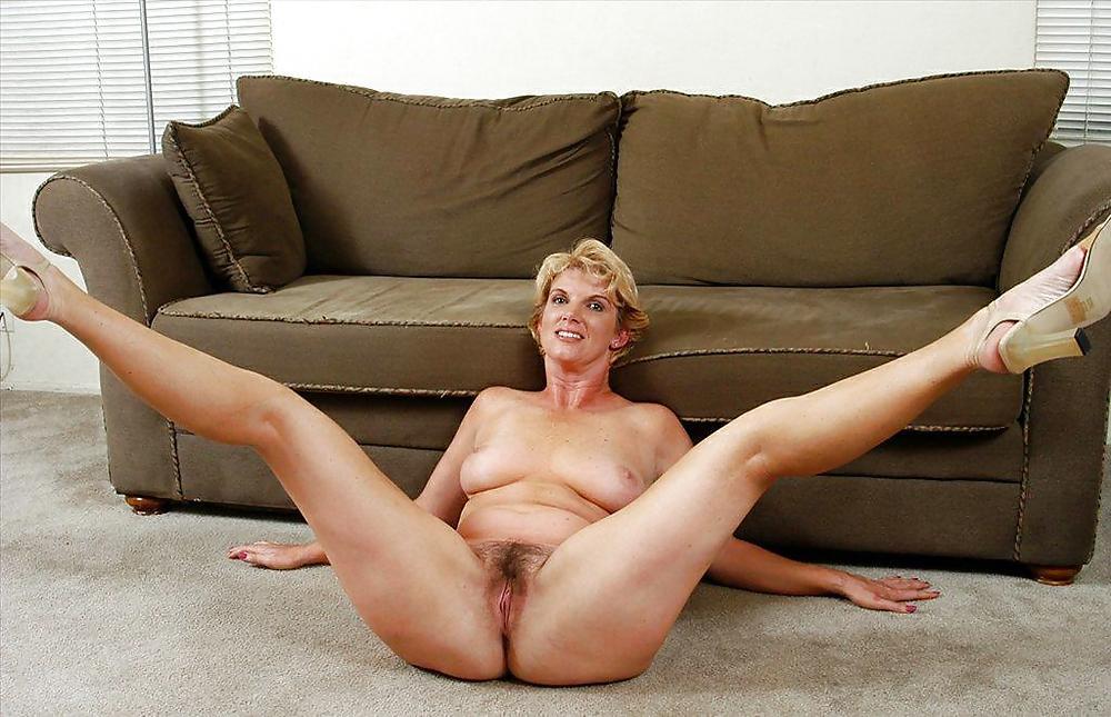 Mature sexy milf legs