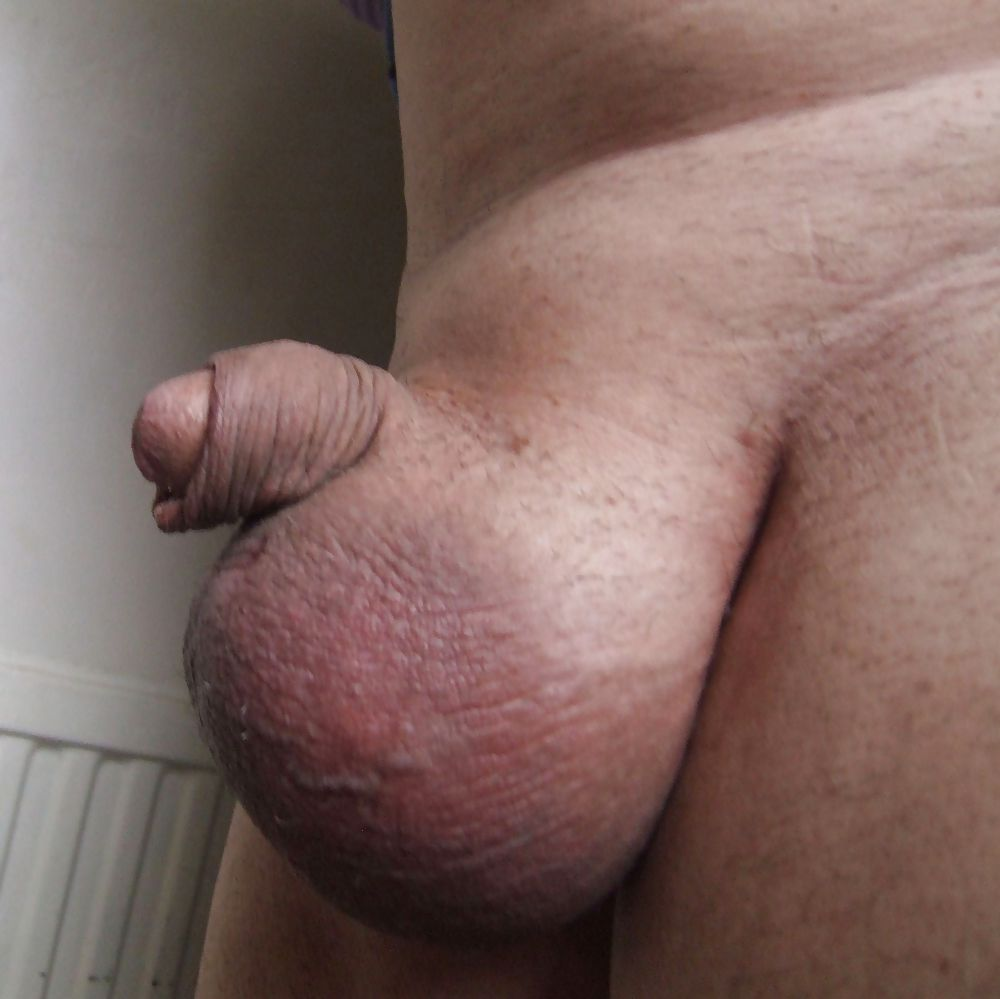 Big Black Balls And Dick