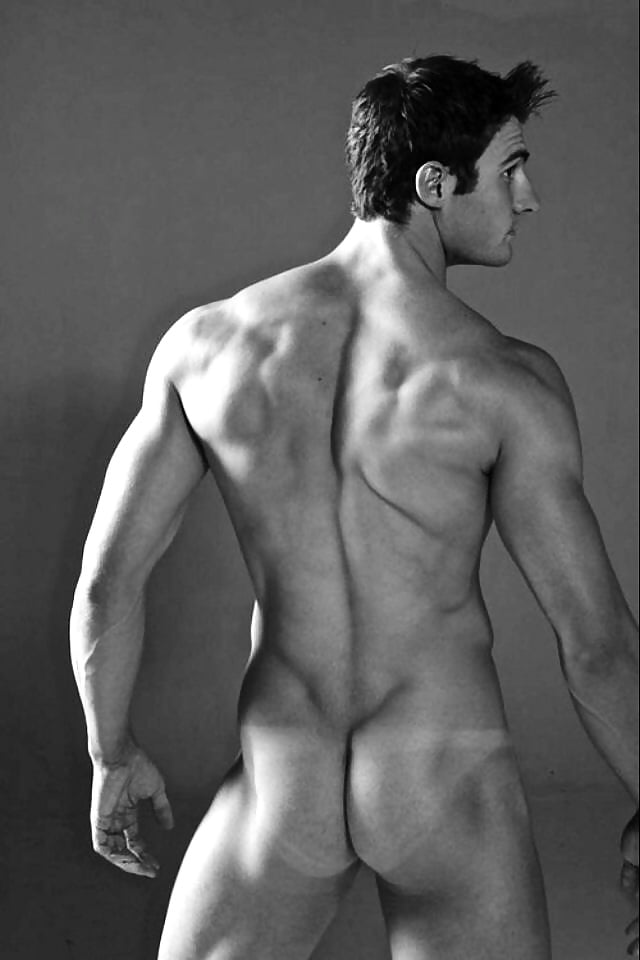 Nude boy with a perfect body