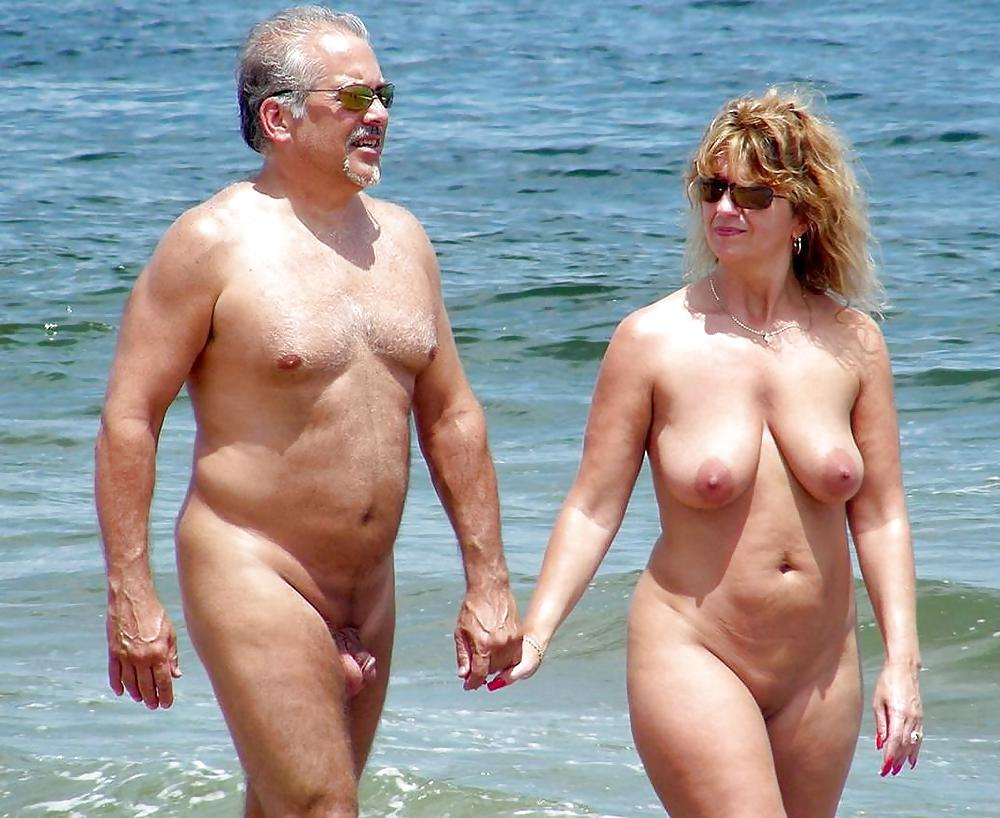 Hairy older nude men