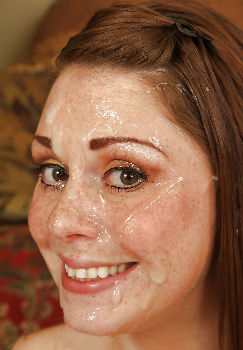 Freckles Cumshot Porn Pics