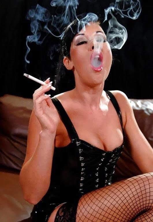 Mature smoking fetish porn pics
