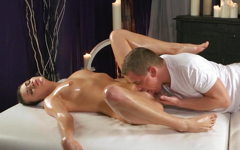 Nude massage room