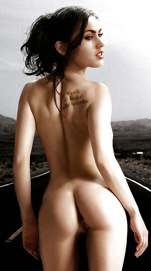 Hollywood girl nude ass photo