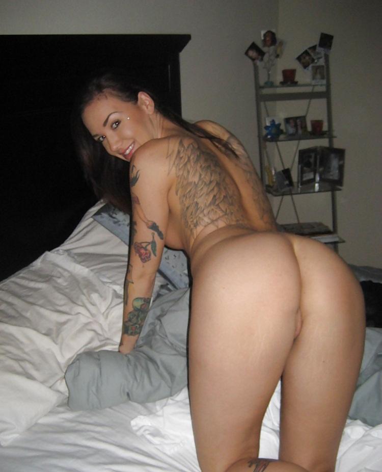 Tattooed College Coed Nude Photo