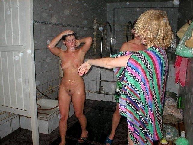 с женой в общественной бане что меня смущало
