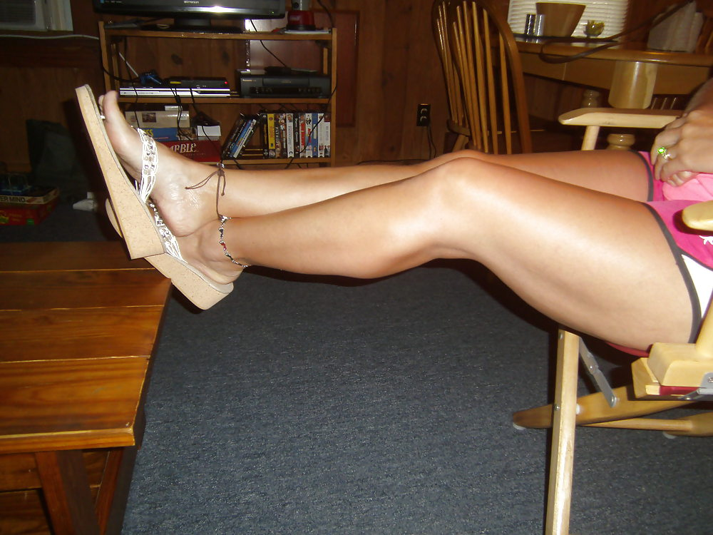 My wife's sexy feet
