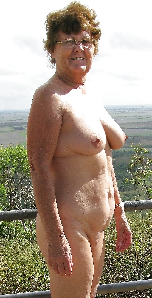 nudist contest Granny