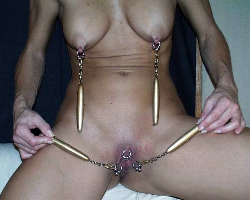 Breast needle bdsm